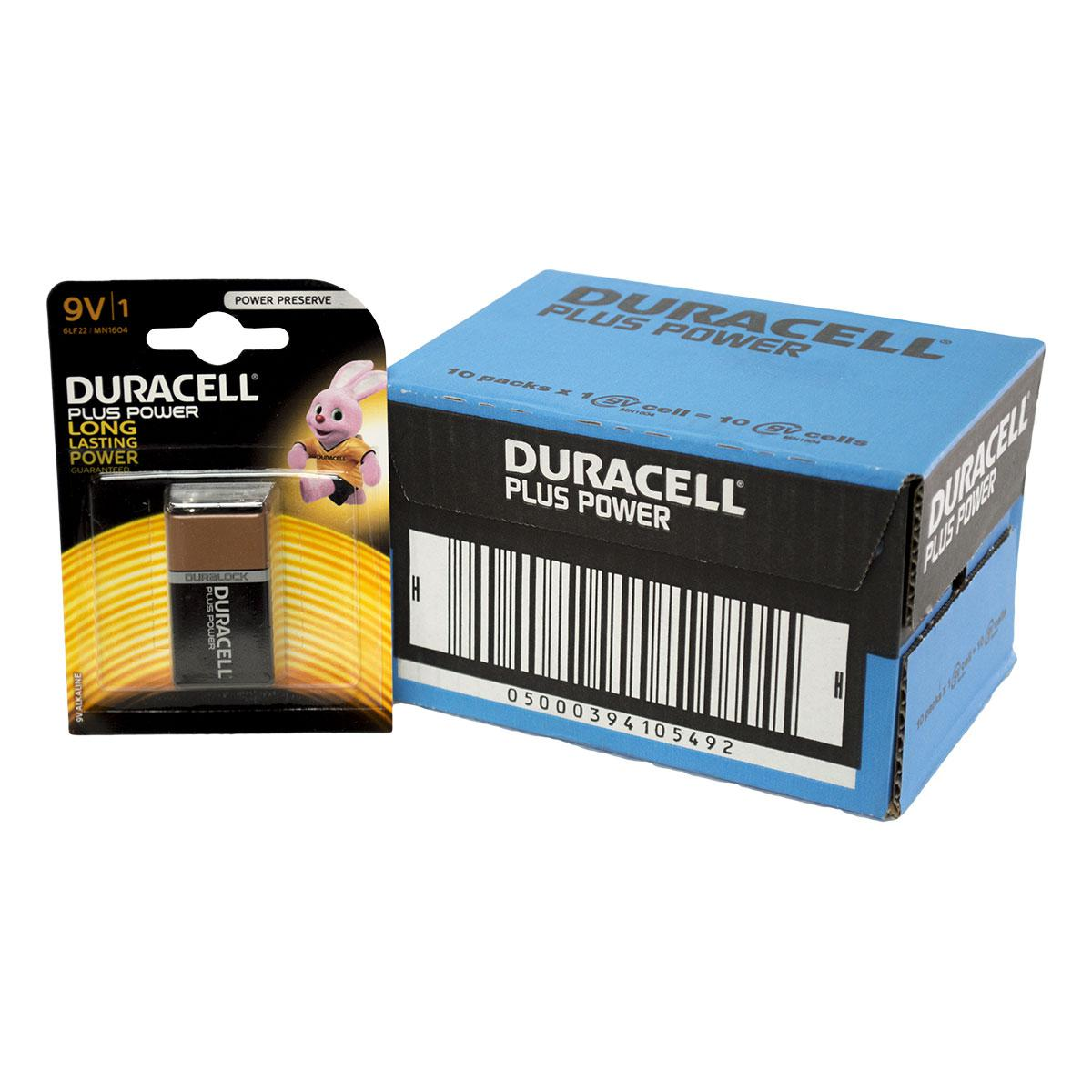 Field Full Size Battery Box : Box quantities of duracell plus power v batteries