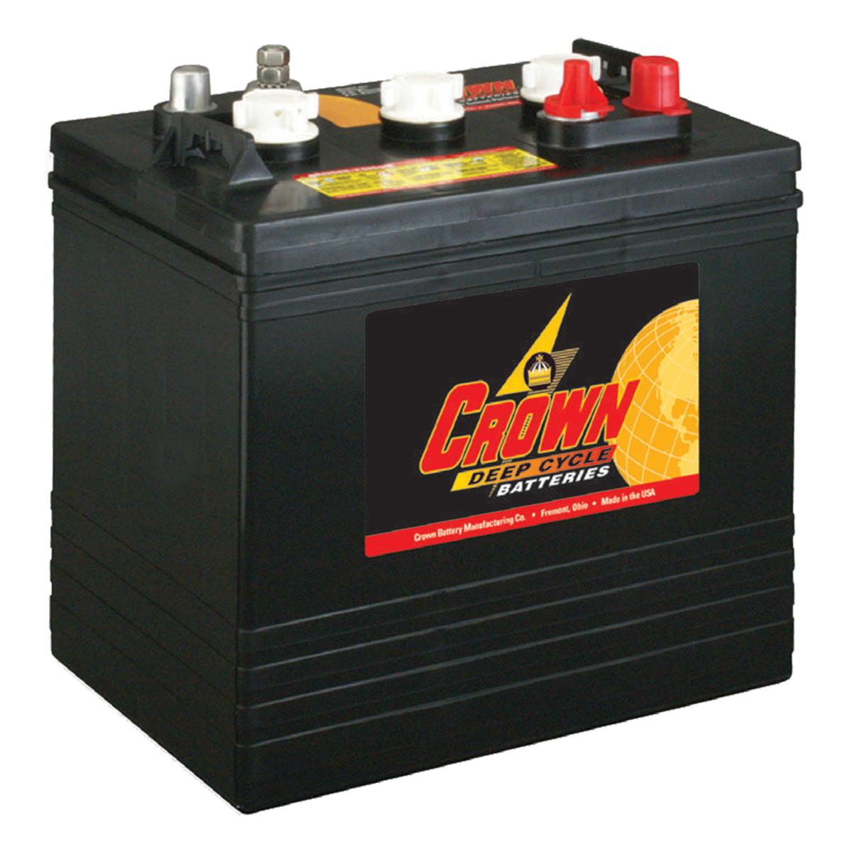 cr 205 crown 6v 205ah deep cycle battery. Black Bedroom Furniture Sets. Home Design Ideas