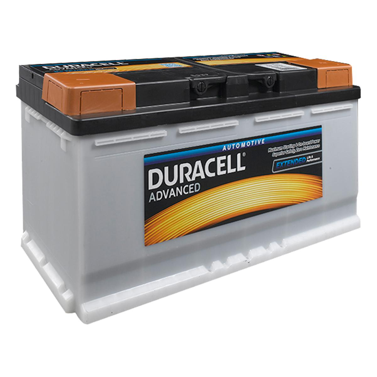 Duracell Car Battery Review >> Duracell 019 Da100 Advanced Car Battery