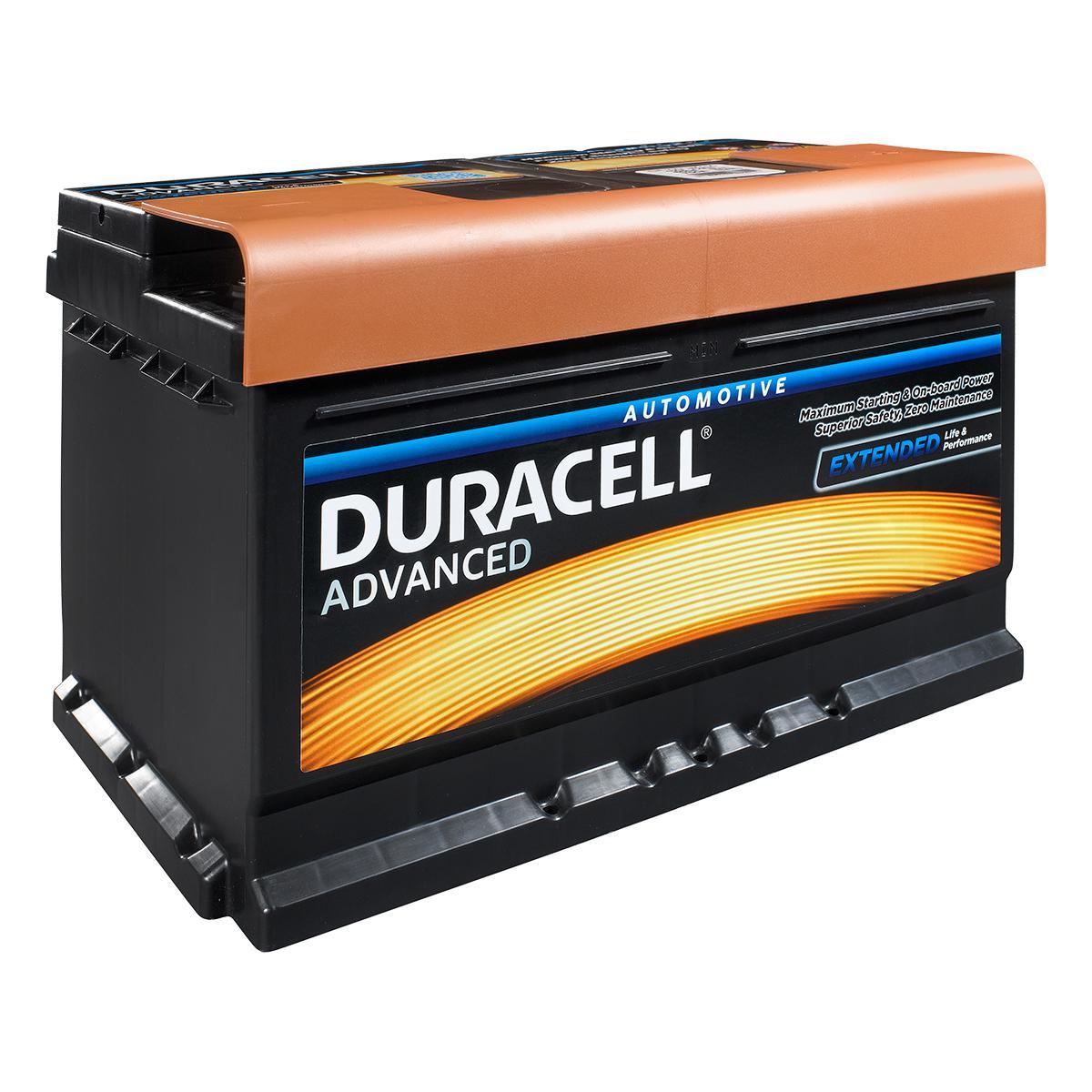 Duracell 100 / DA72 Ad...