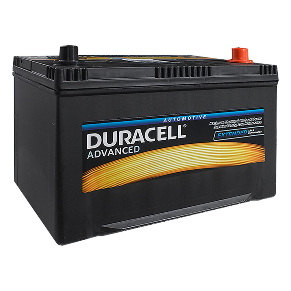 duracell 249 da95 advanced car battery www. Black Bedroom Furniture Sets. Home Design Ideas