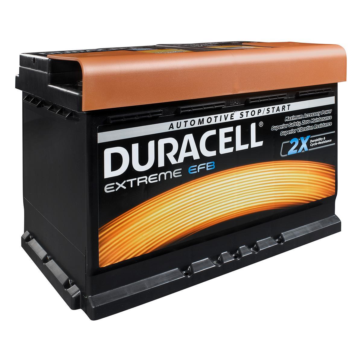 Duracell 096 / DE70 EFB Extreme Car Battery