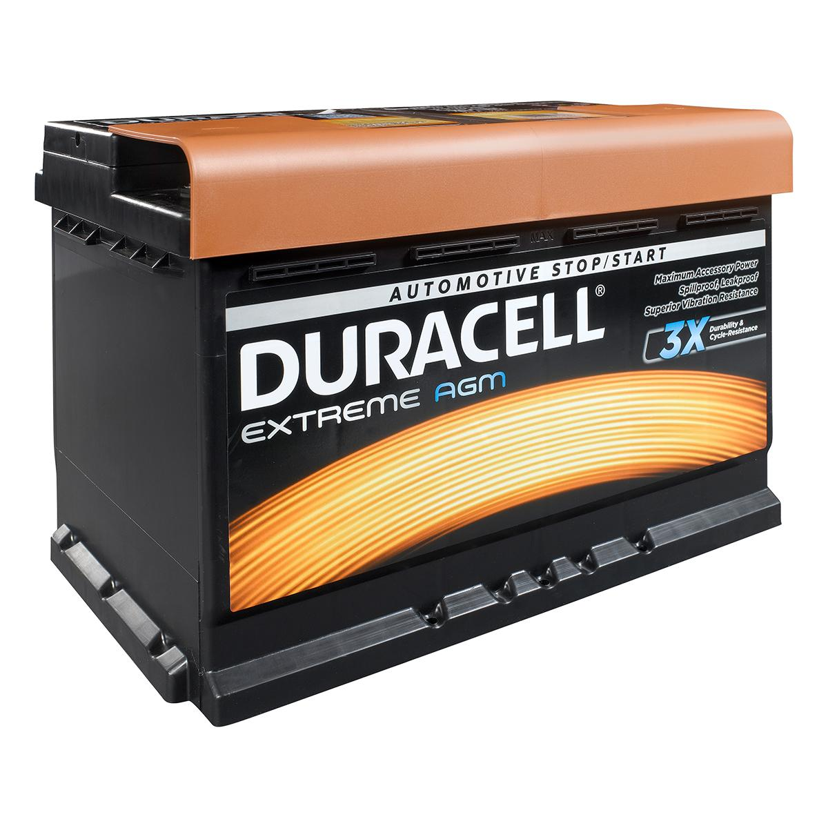 Duracell 110 / DE80 AGM Extreme Car Battery