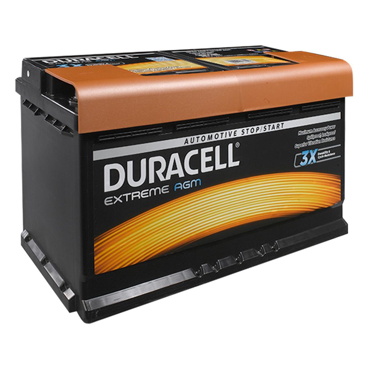 Duracell 019 / DE92 AGM Extreme Car Battery