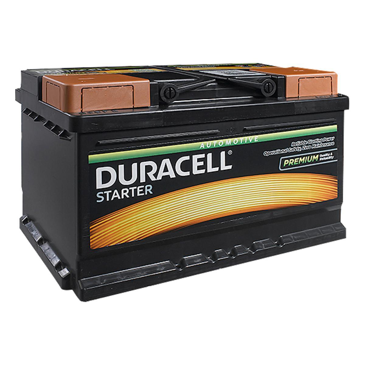 Duracell Starter 096/ DS72 Car Battery