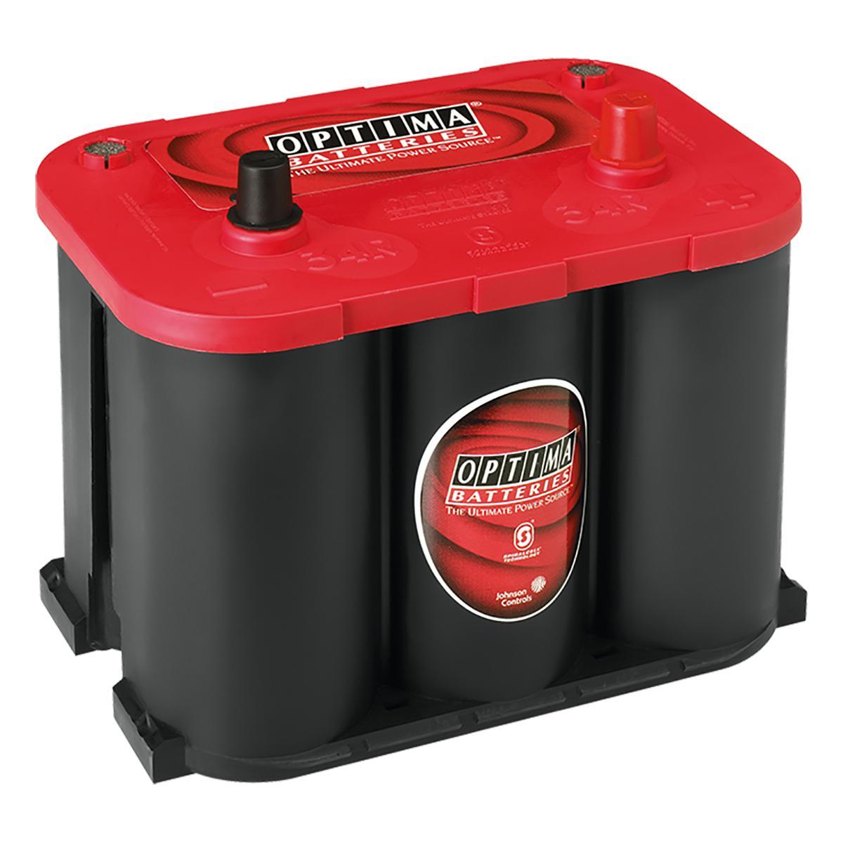 rtr4 2 optima 8003 251 12v 50ah redtop battery. Black Bedroom Furniture Sets. Home Design Ideas
