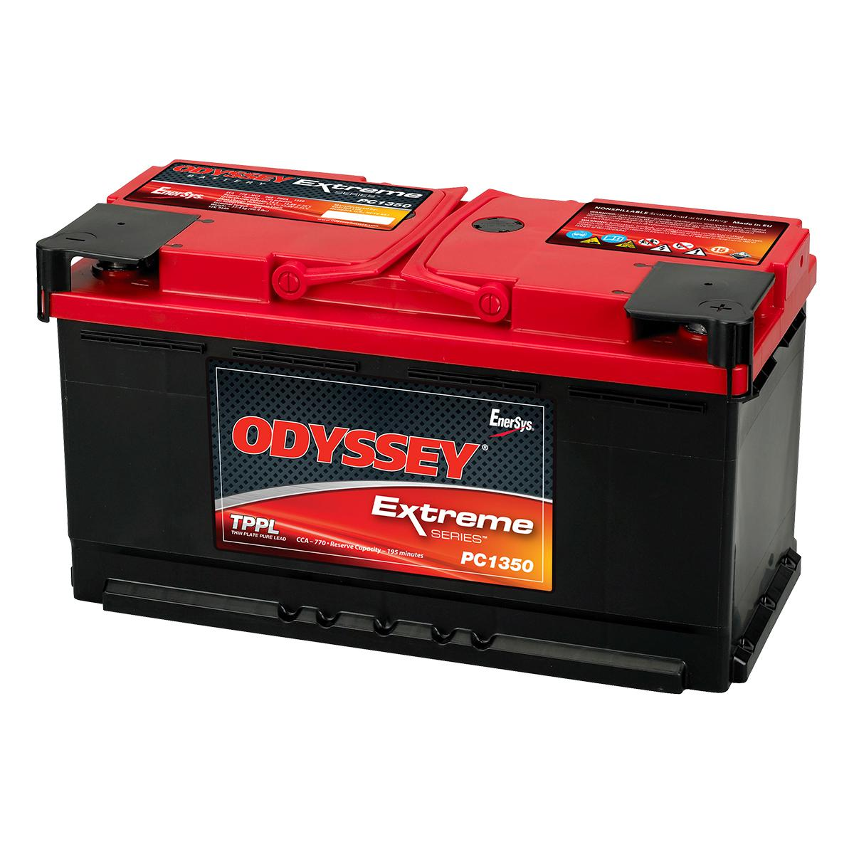 pc1350 odyssey 12v 95ah extreme series battery. Black Bedroom Furniture Sets. Home Design Ideas