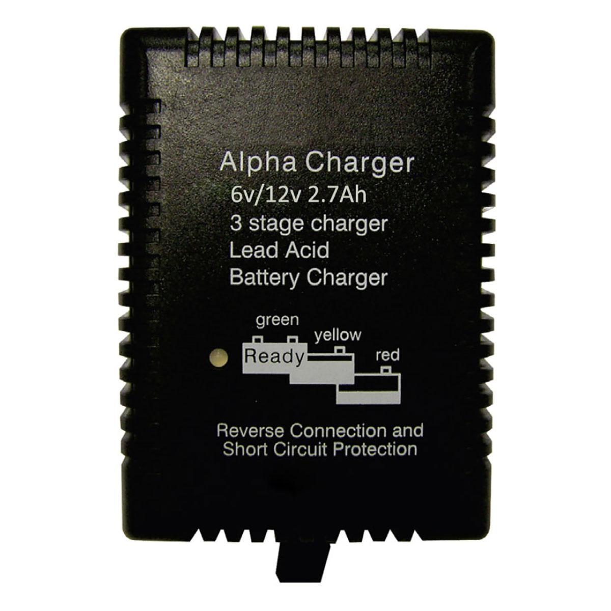Pro Lite Alpha 6 12 27 6v And 12v 27ah Plugtop Battery Charger Circuit Constant Current Lead