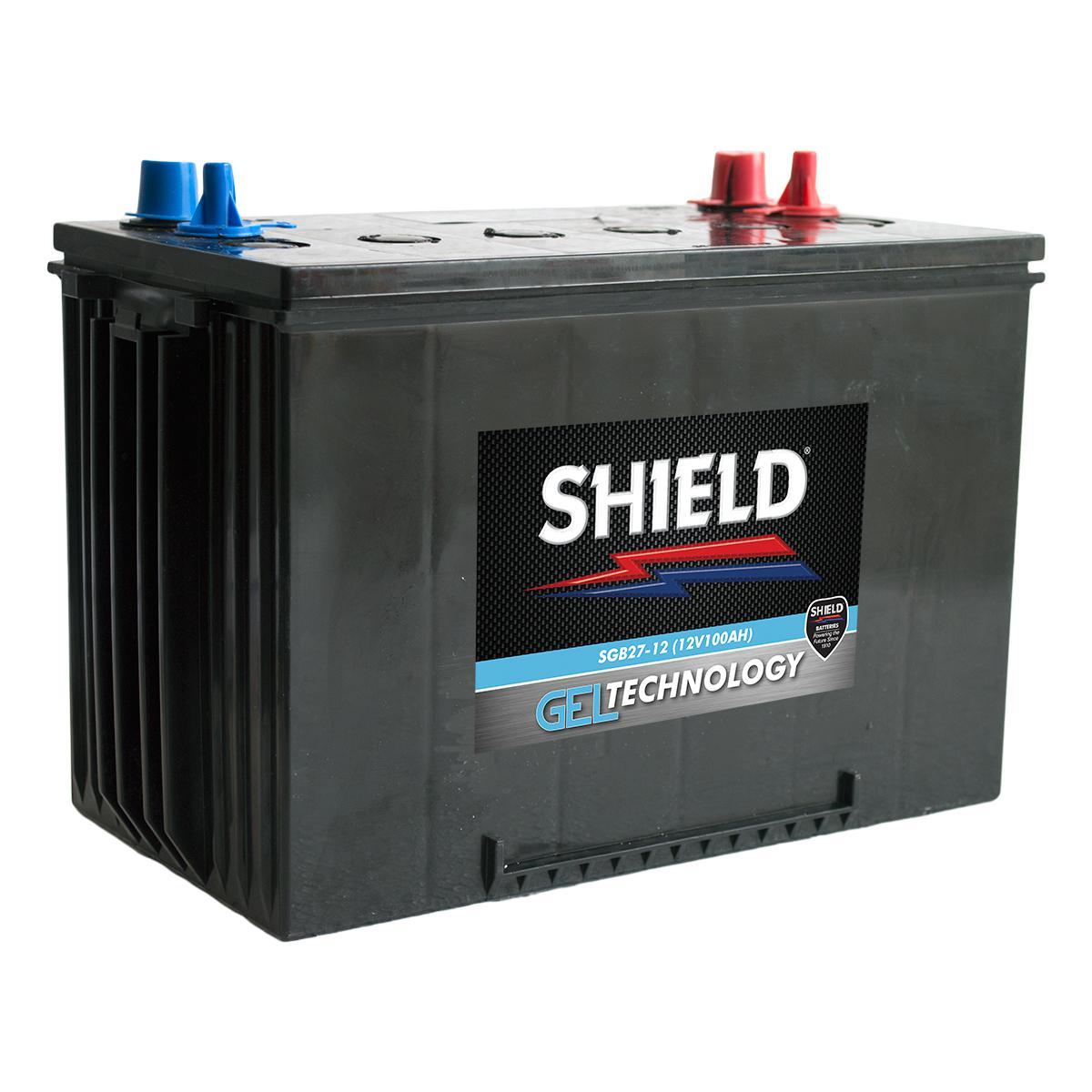 shield sgb27 12 gel marine battery. Black Bedroom Furniture Sets. Home Design Ideas
