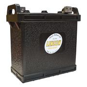 703 Hard Rubber Car Battery 6v