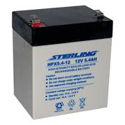 Sterling HPX5.4-12 12v 5.4Ah SLA/VRLA Battery