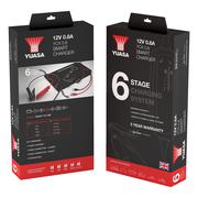Yuasa YCX 0.8 12v 0.8A 6 Stage Smart Charger
